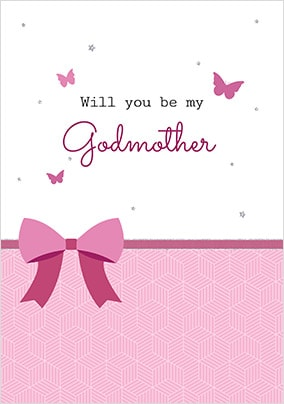 Will You Be My Godparent Cards Funky Pigeon