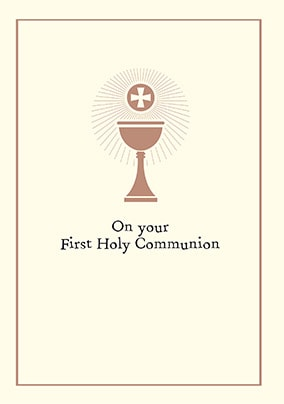 picture relating to First Holy Communion Cards Printable Free named Holy Communion Playing cards Funky Pigeon