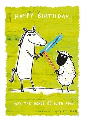 Buy Horse Birthday Cards