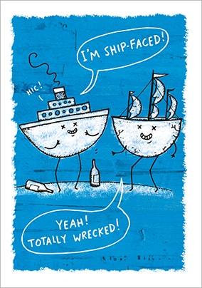Sailing Boating Birthday Cards