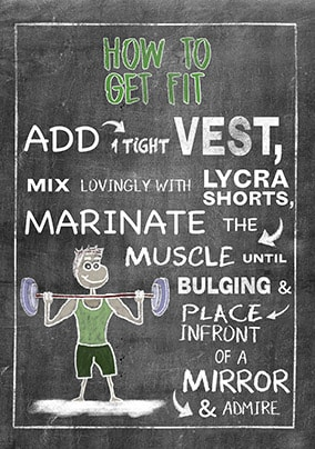 How To Get Fit Card