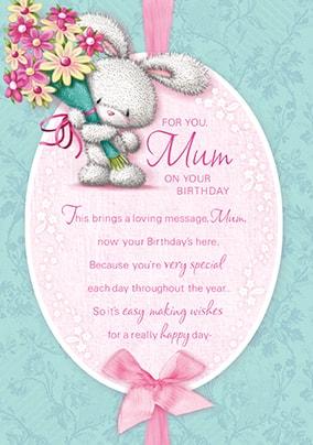 Mum Happy Birthday Card
