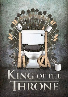 King of The Throne Card