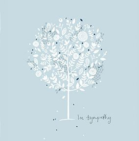 In Sympathy Tree Card