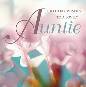 Wishful Auntie Birthday Card YES Preview Image Is Not Found