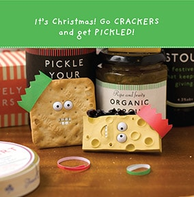 Get Pickled Christmas Card