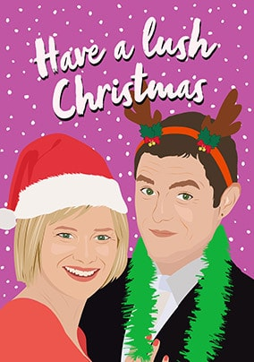 Have A Lush Christmas Card