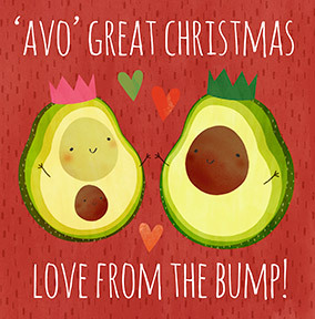 Avo Great Christmas from the Bump Card