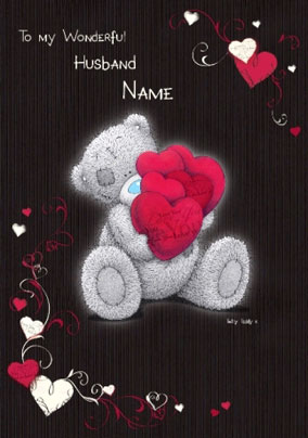 Husband valentines day cards funky pigeon me to you wonderful husband card m4hsunfo