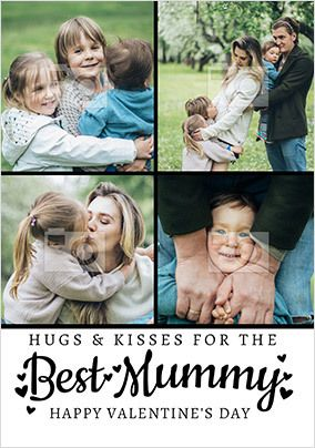 Best Mummy Photo Valentine's Card