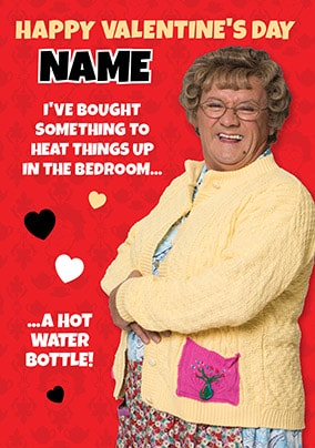 Mrs Brown's Boys - Heat Things Up Personalised Valentines Card