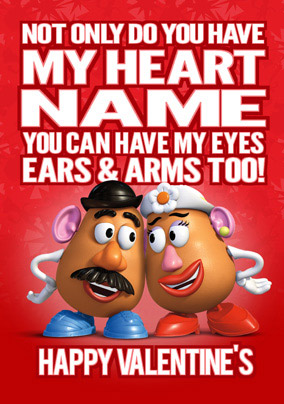 Toy Story Have My Heart Valentine Funky Pigeon