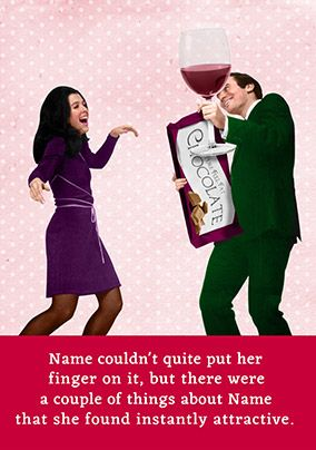 Funny Chocolate Valentine's Card - Emotional Rescue