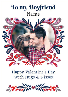 Folklore To My Boyfriend On Valentine S Day Funky Pigeon