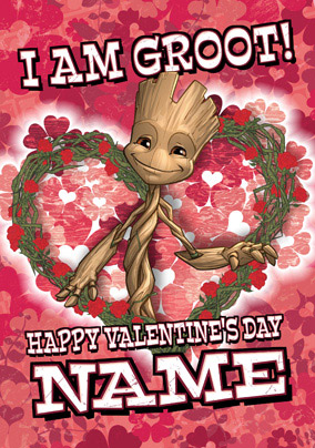Groot Valentine's Day Card