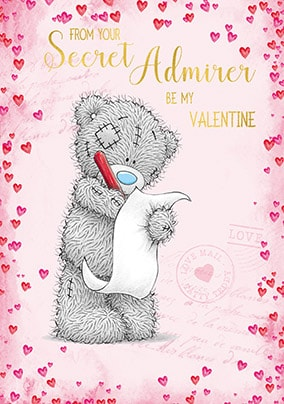 From Your Secret Admirer Personalised Valentine's Card