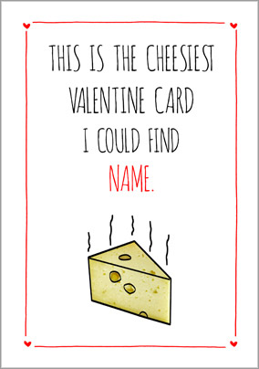 Blatant Betty - Cheesy Valentine's Day Card