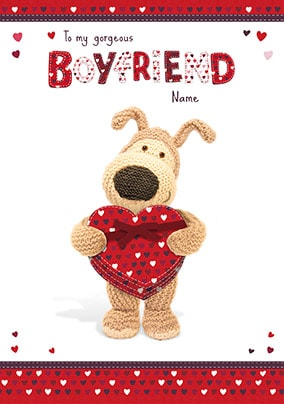 Boofle - To My Gorgeous Boyfriend Card
