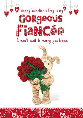 Boofle - Gorgeous Fiancee Card