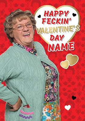 MRS BROWN/'S BOYS 1 Personalised Birthday Card ANY NAME RELATION ! AGE FUNNY