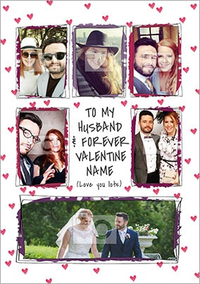 Husband & Forever Valentine Photo Card
