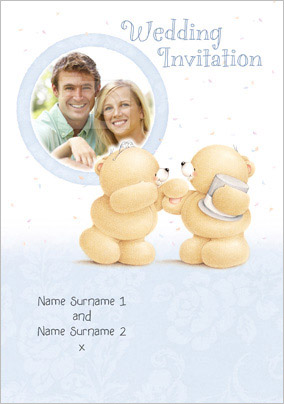 Forever Friends - Wedding Invitation