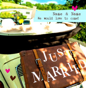 Just Married - Wedding RSVP