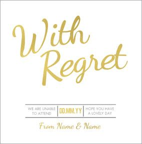Luxe Love Affair - With Regret