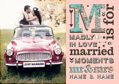 M is for Moments - M is for Mr and Mrs