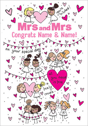 Little Scribblers - Mrs and Mrs