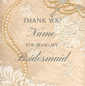 Bridal Party Wedding Cards Funky Pigeon