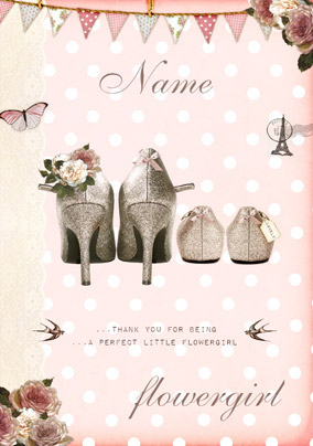fd856901c86 Flower Girl Cards - Will You Be   Thank You