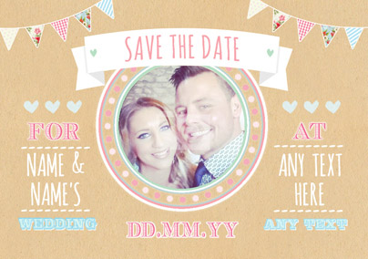 Save The Date Cards Buy Send Funky Pigeon