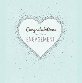 Congratulations on Your Engagement Personalised Card