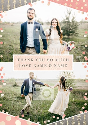 Thank You So Much Photo Wedding Card No Preview Image Is Not Found