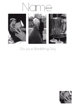 Black & White - Wedding Day
